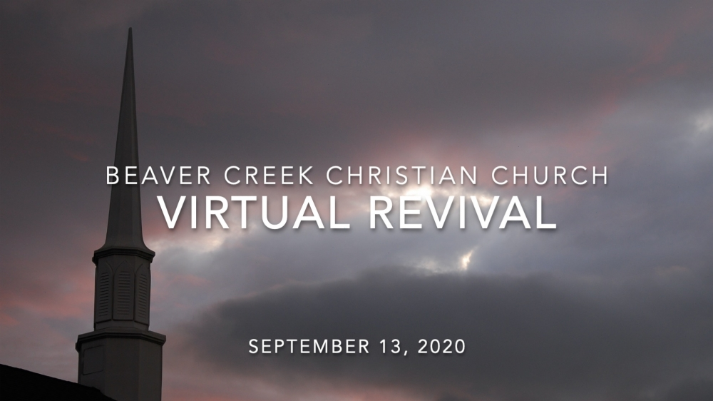 WE ARE HAVING A VIRTUAL REVIVAL